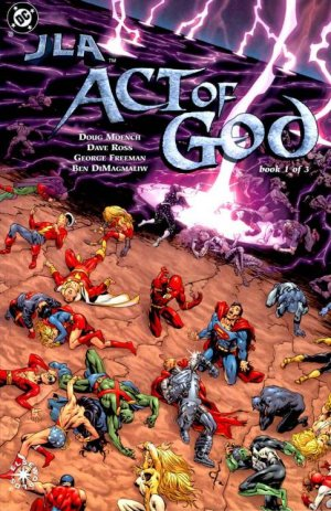 JLA - Act of God # 1 Issues