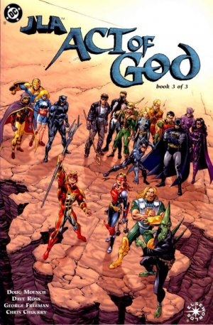 JLA - Act of God # 3 Issues