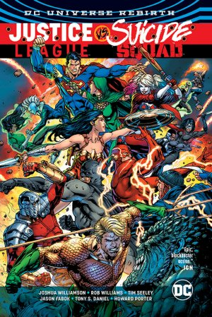 Justice League Vs. Suicide Squad édition TPB softcover (souple)