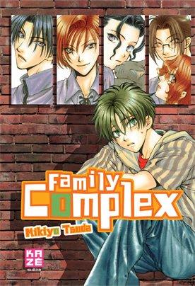 couverture, jaquette Family complex   (kazé manga)