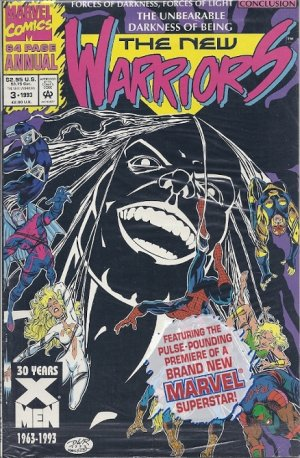 The New Warriors # 3 Issues V1 - Annuals (1991-1994)