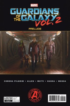 Guardians of the Galaxy Vol. 2 Prelude # 2 Issues (2017)