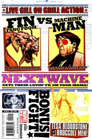 Nextwave - Agents of H.A.T.E. # 2 Issues (2006 - 2007)
