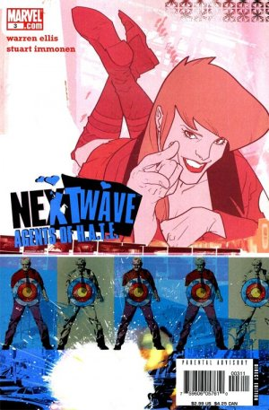 Nextwave - Agents of H.A.T.E. # 3 Issues (2006 - 2007)