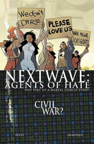 Nextwave - Agents of H.A.T.E. # 11 Issues (2006 - 2007)