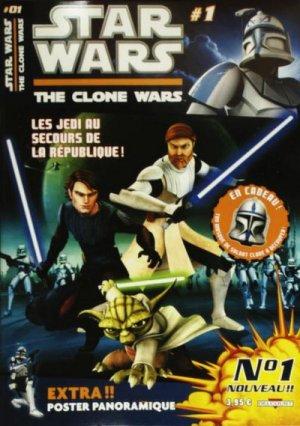 Star Wars - The Clone Wars magazine édition Magazine