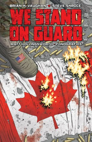 We Stand on Guard édition TPB softcover (souple)