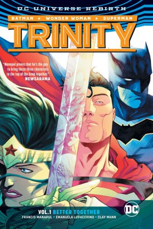DC Trinity édition TPB softcover (souple) - Issues V2 - Rebirth