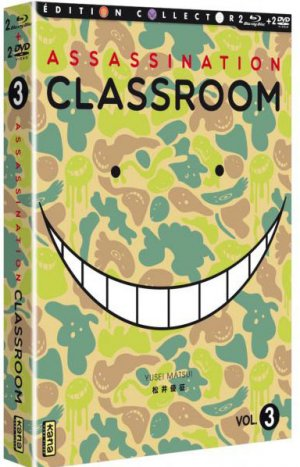 Assassination Classroom saison 2 édition Collector - Combo DVD/Blu-Ray