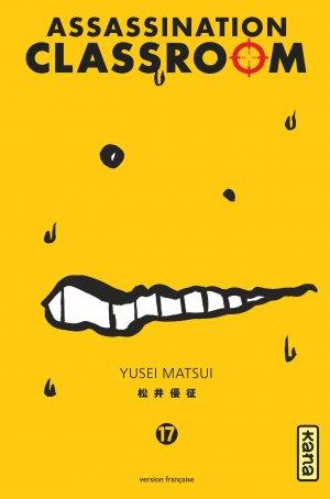 couverture, jaquette Assassination Classroom 17  (kana)