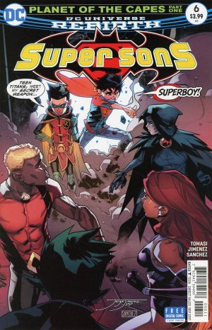 Super Sons # 6 Issues V1 (2017 - 2018)