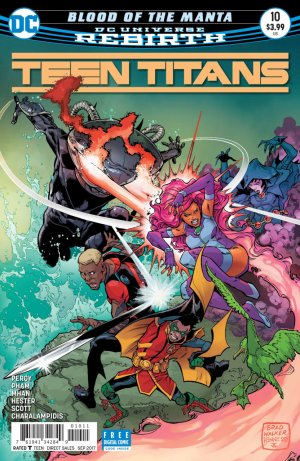 Teen Titans # 10 Issues V6 (2016 - Ongoing)