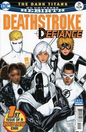 Deathstroke # 21