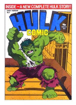 Hulk Comic # 4 Issues
