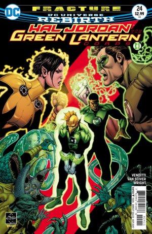 Green Lantern Rebirth # 24 Issues (2016-2018)