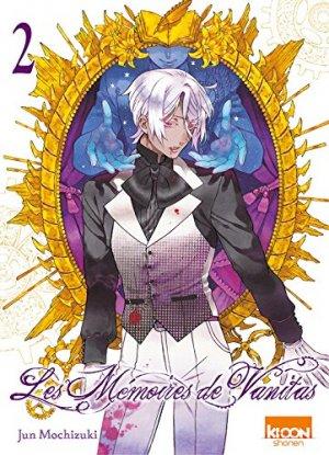 couverture, jaquette Les Mémoires de Vanitas 2  (Ki-oon) Manga