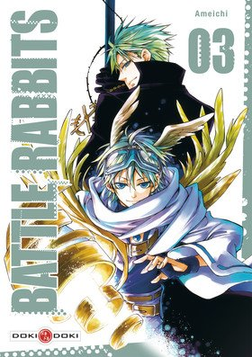 couverture, jaquette Battle Rabbits 3  (Doki-Doki)
