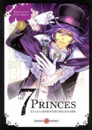 Les 7 princes et le labyrinthe millénaire 3 Simple