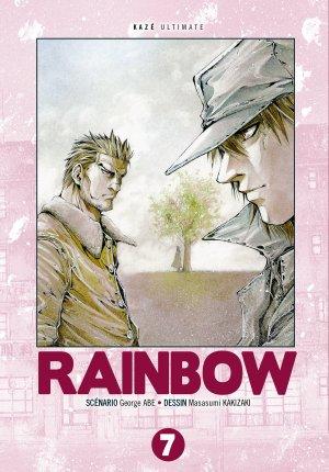 couverture, jaquette Rainbow 7 Édition Triple (kazé manga)