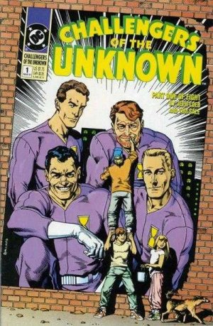 The Challengers of the Unknown édition Issues V2 (1991)