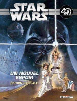 Star Wars (Jeunesse) 4 - Star Wars Épisode IV. Un nouvel espoir (Jeunesse) - Spécial 40e anniversaire