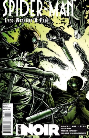 Spider-Man Noir - Eyes Without A Face # 4 Issues