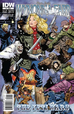 Wynonna Earp - The Yeti Wars édition Issues (2011)