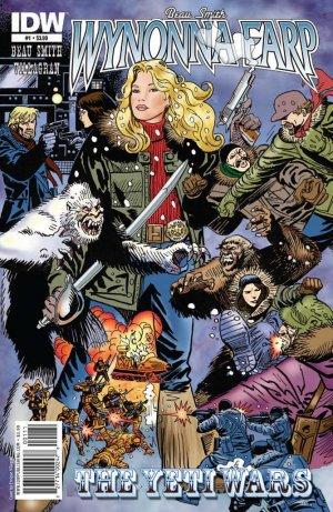 Wynonna Earp - The Yeti Wars # 1 Issues (2011)