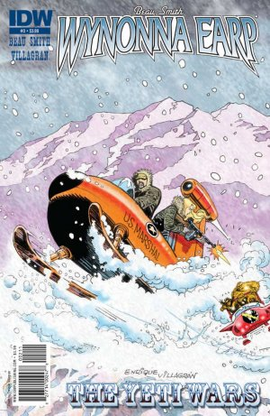 Wynonna Earp - The Yeti Wars # 3 Issues (2011)