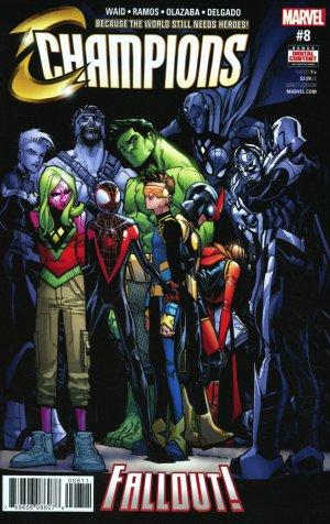 Champions # 8 Issues V2 (2016 - 2018)