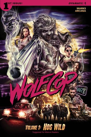 WolfCop édition Issues (2016)