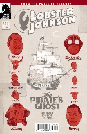 Lobster Johnson - The Pirate's Ghost édition Issues (2017)