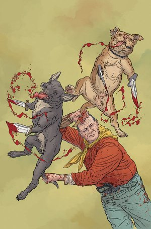 Shaolin Cowboy - Who'll Stop The Reign? # 4 Issues (2017)
