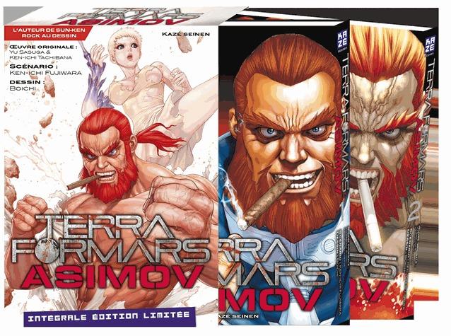 Terra Formars Asimov # 1 Coffret