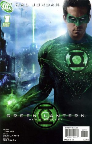 Green Lantern Movie Prequel - Hal Jordan édition Issue (2011)