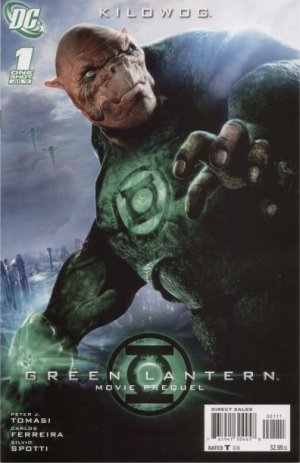 Green Lantern Movie Prequel - Kilowog édition Issue (2011)