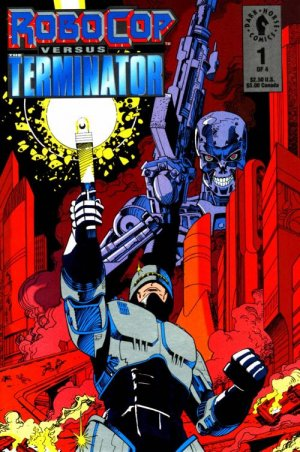 Robocop vs Terminator édition Issues (1992)