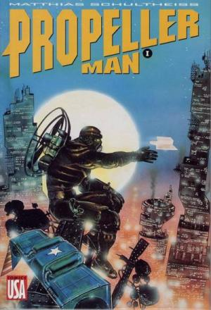 Propeller Man édition TPB hardcover (cartonnée)
