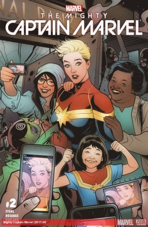 The Mighty Captain Marvel # 2 Issues (2016 - 2017)