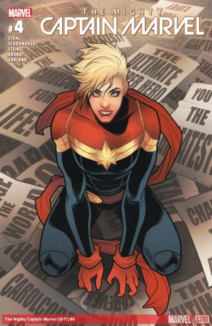 The Mighty Captain Marvel # 4 Issues (2016 - 2017)