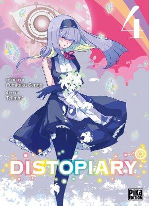 couverture, jaquette Distopiary 4  (Pika) Manga