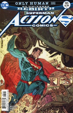 Action Comics 985 - Only Human 1