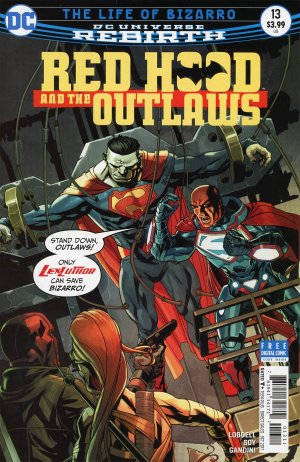 Red Hood and The Outlaws # 13 Issues V2 (2016 - Ongoing) - Rebirth
