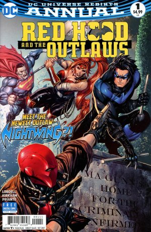 Red Hood and The Outlaws édition Issues V2 - Annuals (2017 - Ongoing)