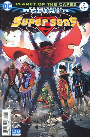 Super Sons # 7 Issues V1 (2017 - 2018)