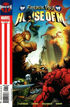 Fantastic Four - House of M édition Issues (2005)