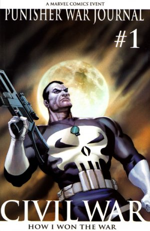 Punisher War Journal 1 - How I Won the War, Part 1 - Bring On the Bad Guys (2nd Printing Olivetti Variant)