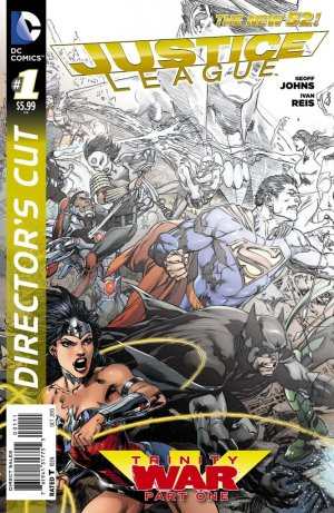 Justice League - Trinity War Director's Cut édition Issues