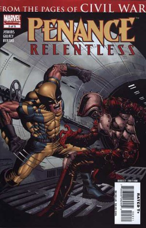 Penance - Relentless # 3 Issues (2007 - 2008)