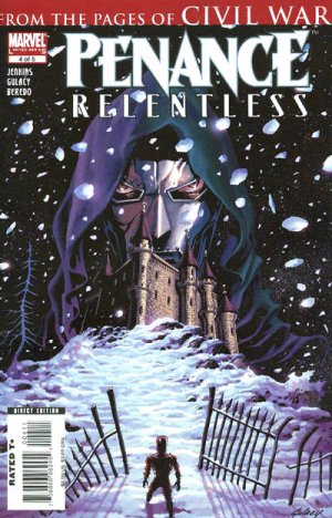 Penance - Relentless # 4 Issues (2007 - 2008)